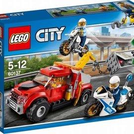 Lego Lego 60137 Sleeptruck probleem