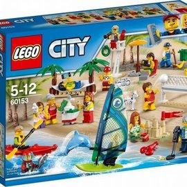 Lego Lego 60153 Plezier in het strand - City personenset - 15 stuks