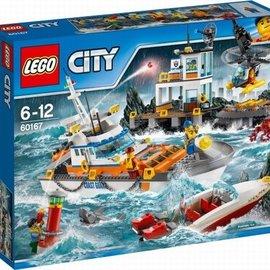 Lego Lego 60167 Kustwacht hoofdkwartier