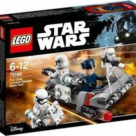 Lego Lego 75166 First Order Transport Speeder Battle Pack