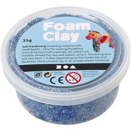 Foam klei blauw 35 gram