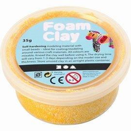 Foam klei geel 35 gram