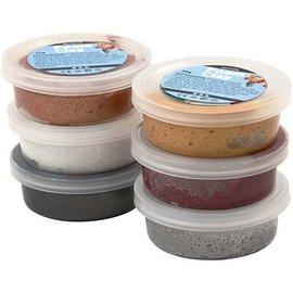 Foam Clay Foam klei Metallic: 6 x 14 gram