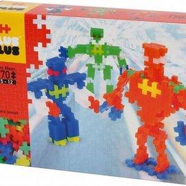 Plus-Plus Mini Neon Plus-Plus Robots: 170 stuks (3726)