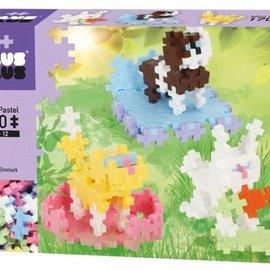 Plus-Plus Mini Pastel Plus-Plus Huisdieren: 170 stuks (3727)