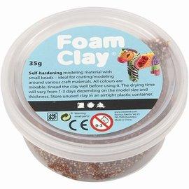 Foam Clay Foam klei metallic bruin 35 gram