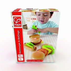 Hape Hape Hamburgers +  Hotdogs