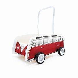 Hape Hape Duwkar VW bus. rood