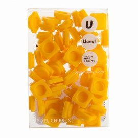 Upixel pixels midden geel