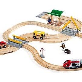 Brio Brio 33209 Rail + Road travelset
