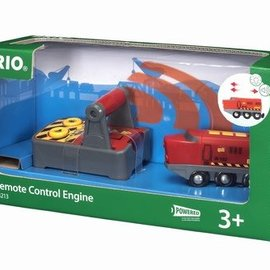 Brio Brio 33213 Rode RC locomotief met afstandsbediening