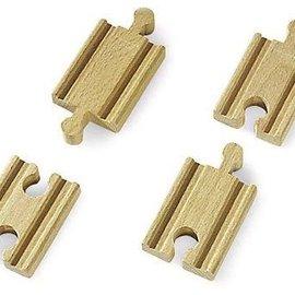 Brio Brio 33333 Korte rechte rails (4 stuks)
