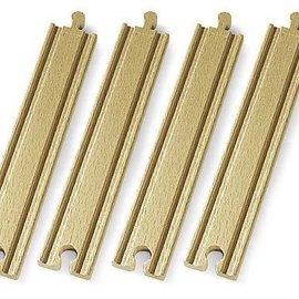 Brio Brio 33341 Lange rechte rails (4 stuks)