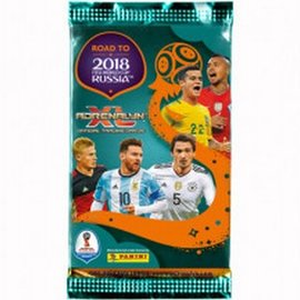 Panini Voetbalplaatjes Road to Worldcup Adrenalyn booster
