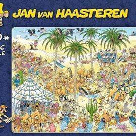 Jan van Haasteren JvH - De oase (1500 stukjes)
