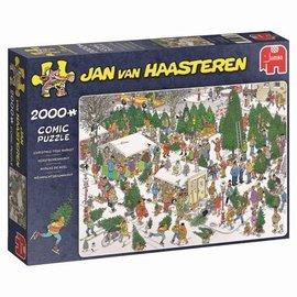 JvH - De kerstbomenmarkt (2000 stukjes)