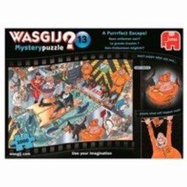 Jumbo Wasgij Mystery 13 - Geen ontkomen aan (1000 stukjes)
