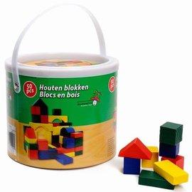 Blokkenton hout (50-dlg)