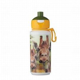 Mepal Drinkfles Campus pop-up 275 ml - Animal Planet Giraffe