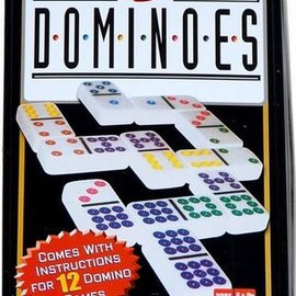 Domino dubbel 9 in blik