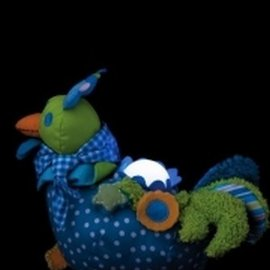 Dushi Dushi Nachtlamp blauw