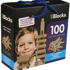 Bblocks Bblocks 100 stuks in kartonnen doos