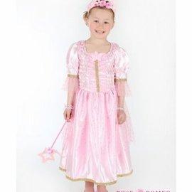 Rose en Romeo Samara jurk. roze (5-7 jaar)