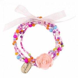 Souza Armband Carli roze multi