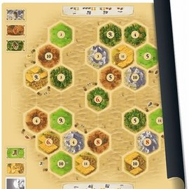 999 Games 999 Games Catan speelmat Desert