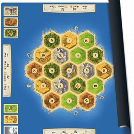 999 Games 999 Games Catan speelmat Gold