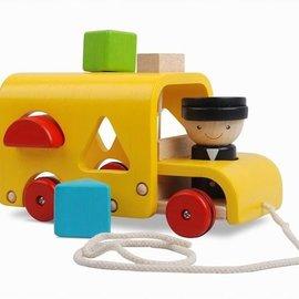 Plan Toys Sorteer schoolbus