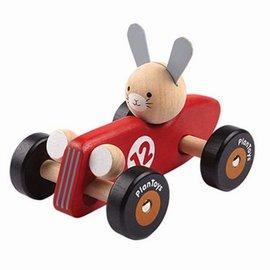 Plan Toys Konijn raceauto