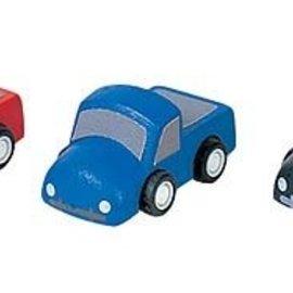 Plan Toys Mini trucks (per 3)