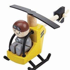 Plan Toys Helikopter met piloot