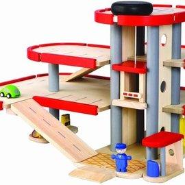Plan Toys Parkeergarage