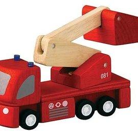 Plan Toys Brandweerauto