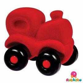 Rubbabu De Choo Choo trein rood