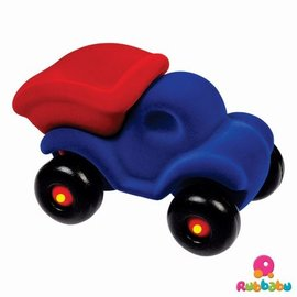 Rubbabu Cleanupper de kiepauto groot (blauw/rood)