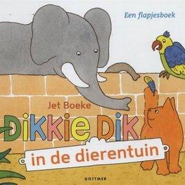 Dikkie Dik in de dierentuin - kartonboekje