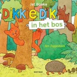 Dikkie Dik in het bos kartonboekje