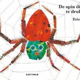 Boek De spin die het te druk had - kartonboekje