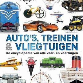 Auto's. treinen + vliegtuigen