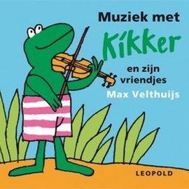 Kikker knisperboek muziek met kikker en vriendjes