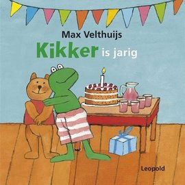 Boek Kikker is jarig (kartonboek)