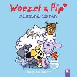 Woezel + Pip Allemaal dieren kartonboek