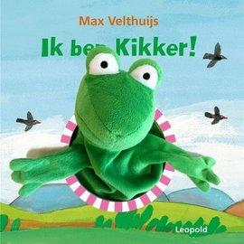 Ik ben Kikker! kartonboek met handpop
