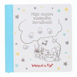 Woezel & Pip Woezel & Pip - Mijn negen maanden invulboek