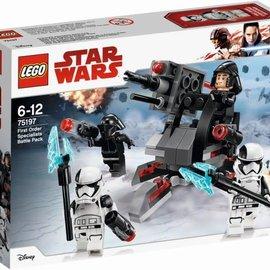Lego Lego 75197 First Order Specialisten Battle Pack