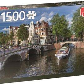 Jumbo Jumbo puzzel Amsterdam Herengracht (1500 stukjes)