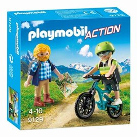 Playmobil Playmobil - Wandelaar en mountainbiker (9129)